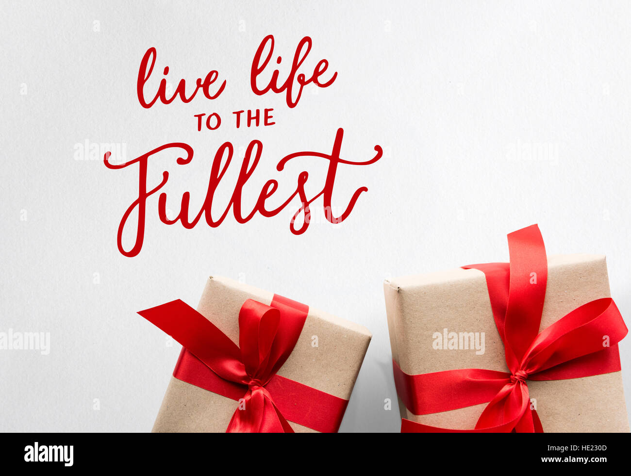 Live Life Fullest Quote Message Stock Photos Live Life Fullest