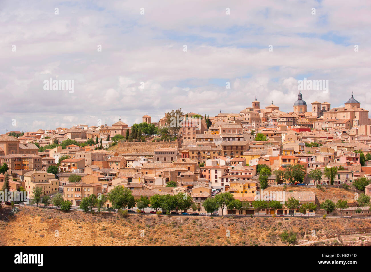View of the city of Toldeo, Spain - Stock Image