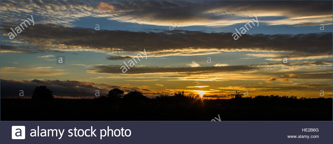 Sunsetting - Stock Image
