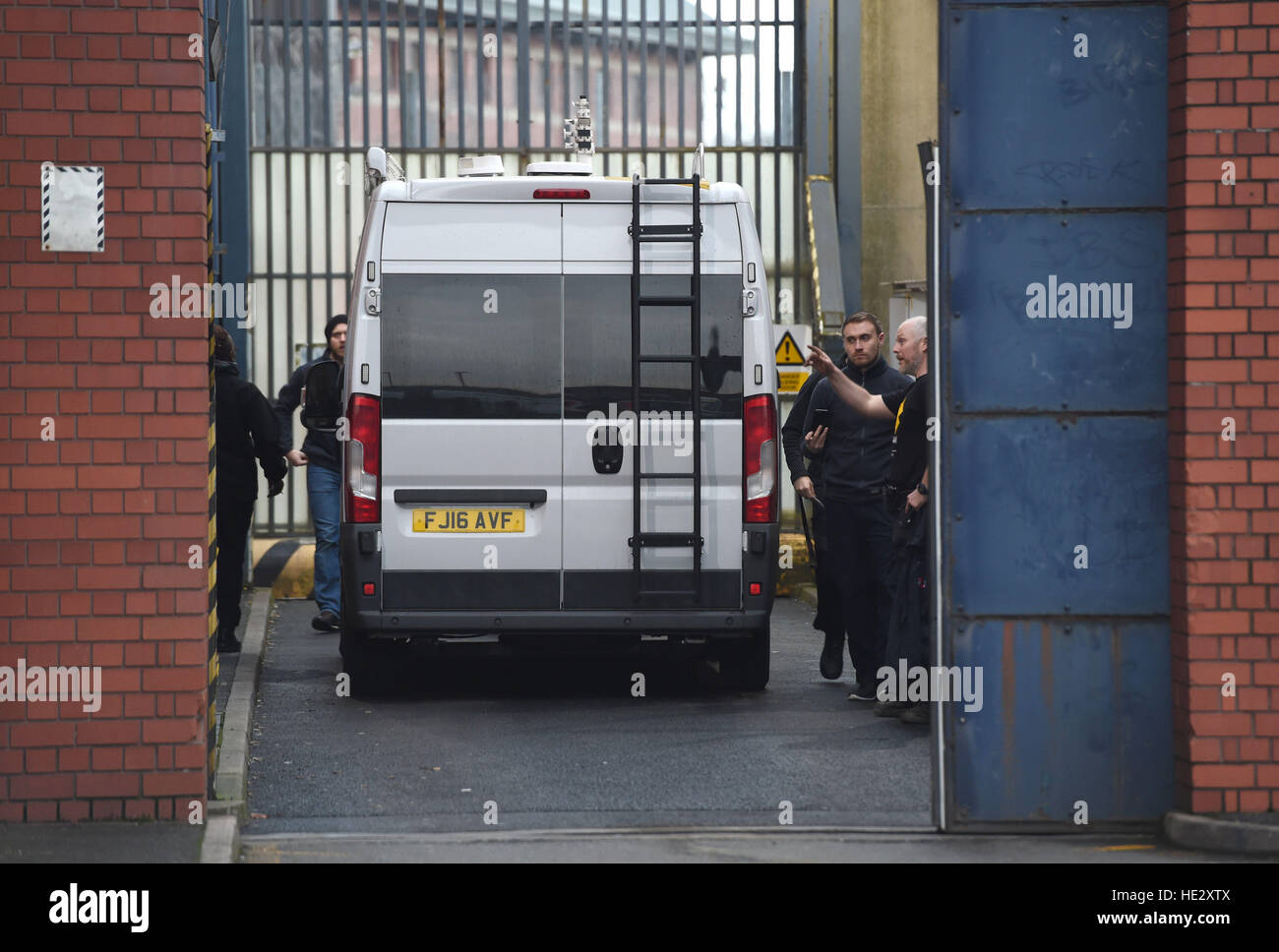 dab9cad3e1 A van is driven into HMP Birmingham as a disturbance by prisoners has  spread to two