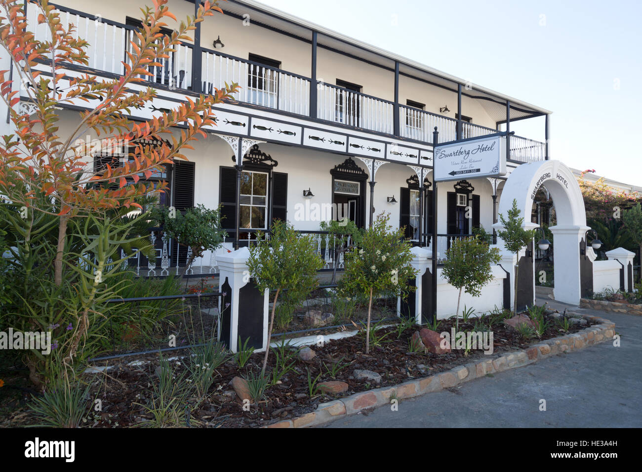 The Swartberg Hotel, Prince Albert, the Karoo, South Africa - Stock Image