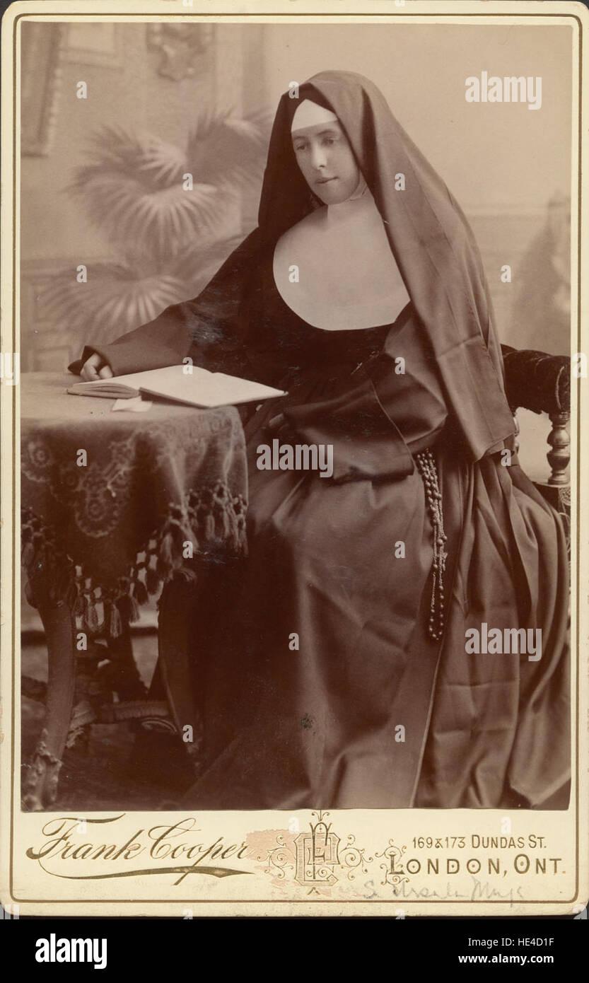Sister Ambrosia Durkin Carte De Visite