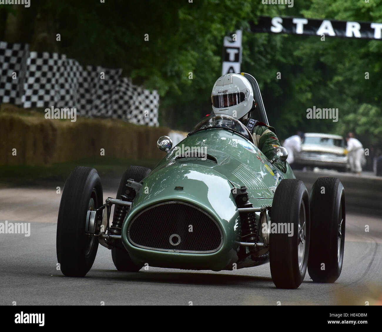 Nigel Batchelor, Kieft-Climax GP, Post War Grand Prix, Goodwood Festival of Speed, 2016. automobiles, cars, entertainment, - Stock Image