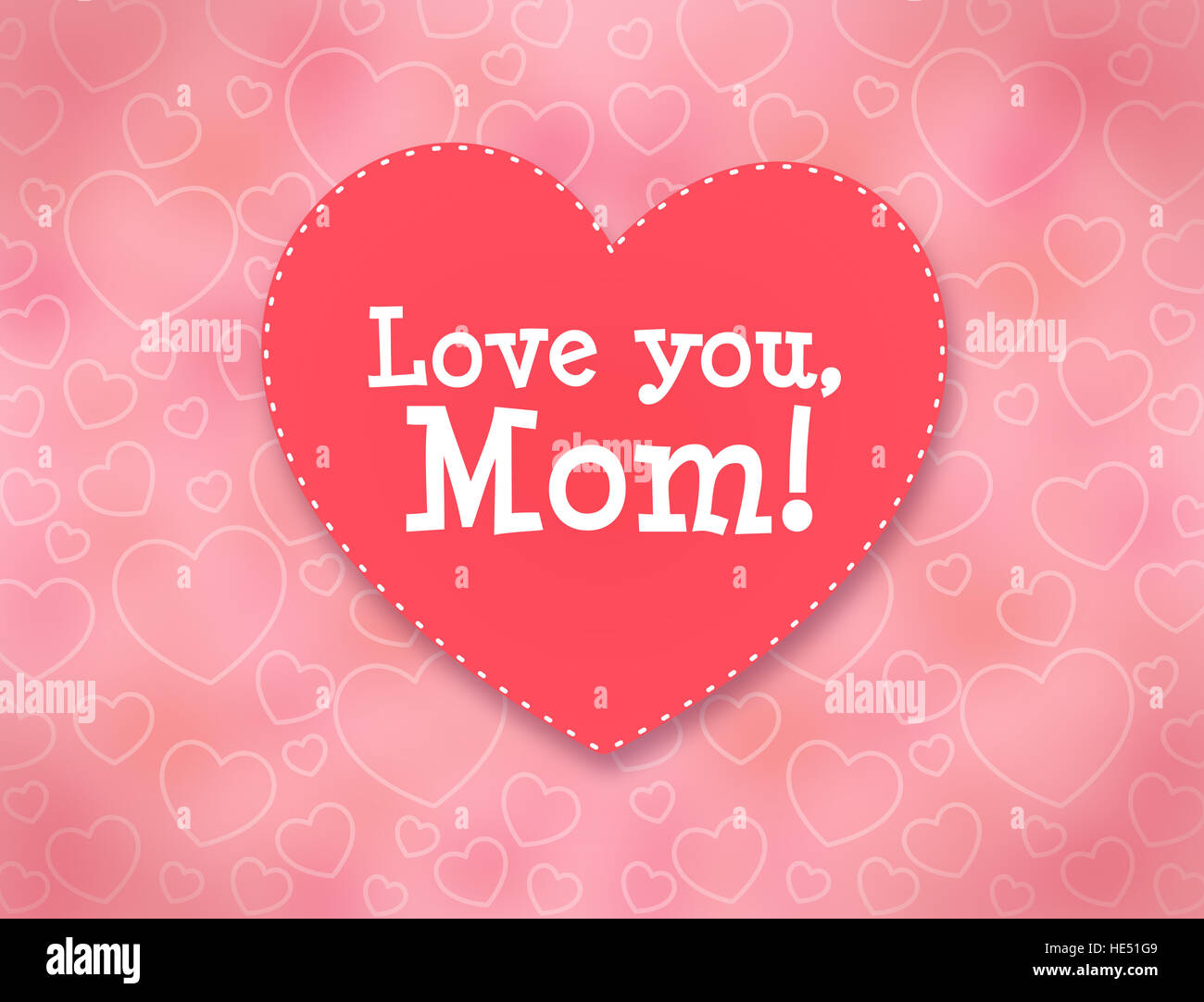 I Love You Mom Stock Photos I Love You Mom Stock Images Alamy