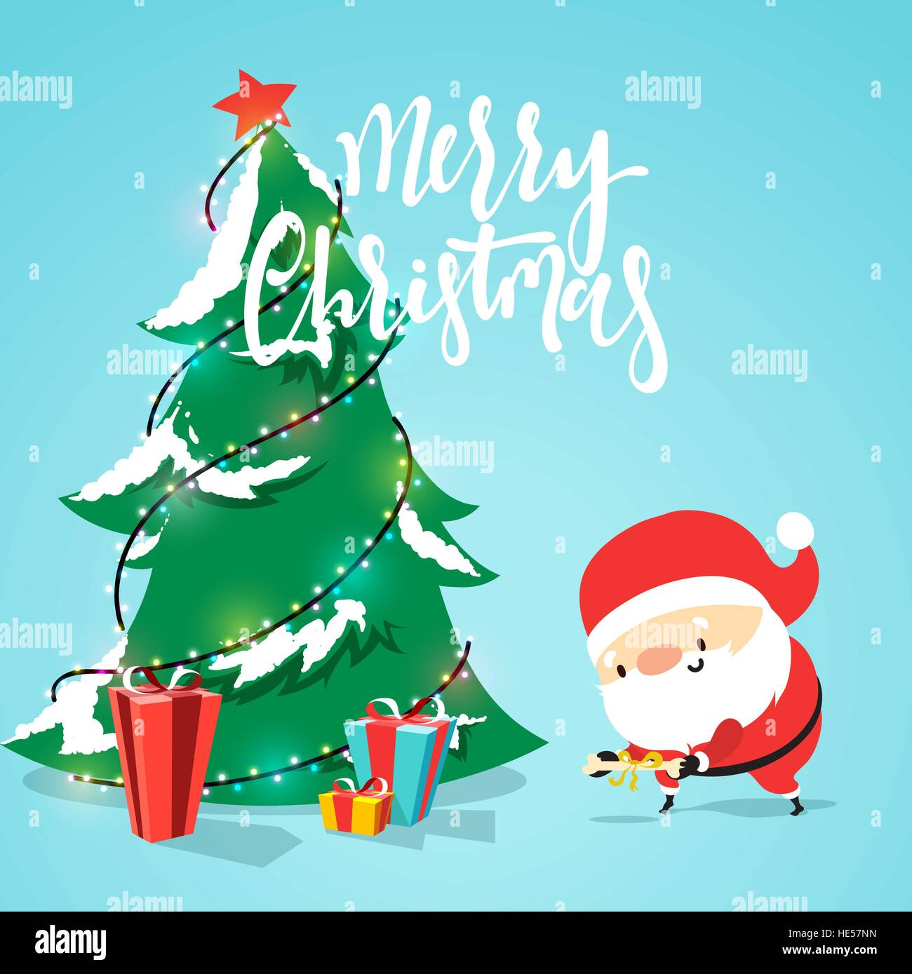 Santa Claus Cartoon Character Puts Presents Under The Christmas Stock Vector Image Art Alamy Polish your personal project or design with these cartoon tree transparent png images, make it even more personalized and more attractive. https www alamy com stock photo santa claus cartoon character puts presents under the christmas tree 129193617 html