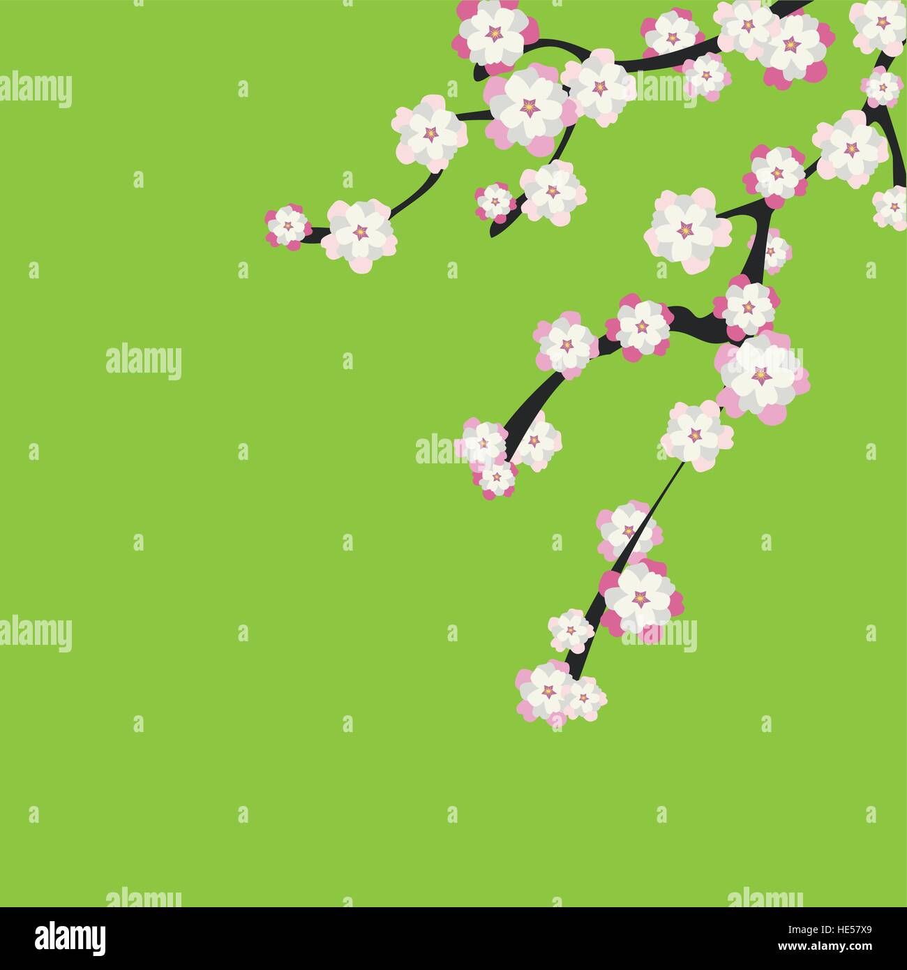 Japanese Garden Stock Vector Images - Alamy