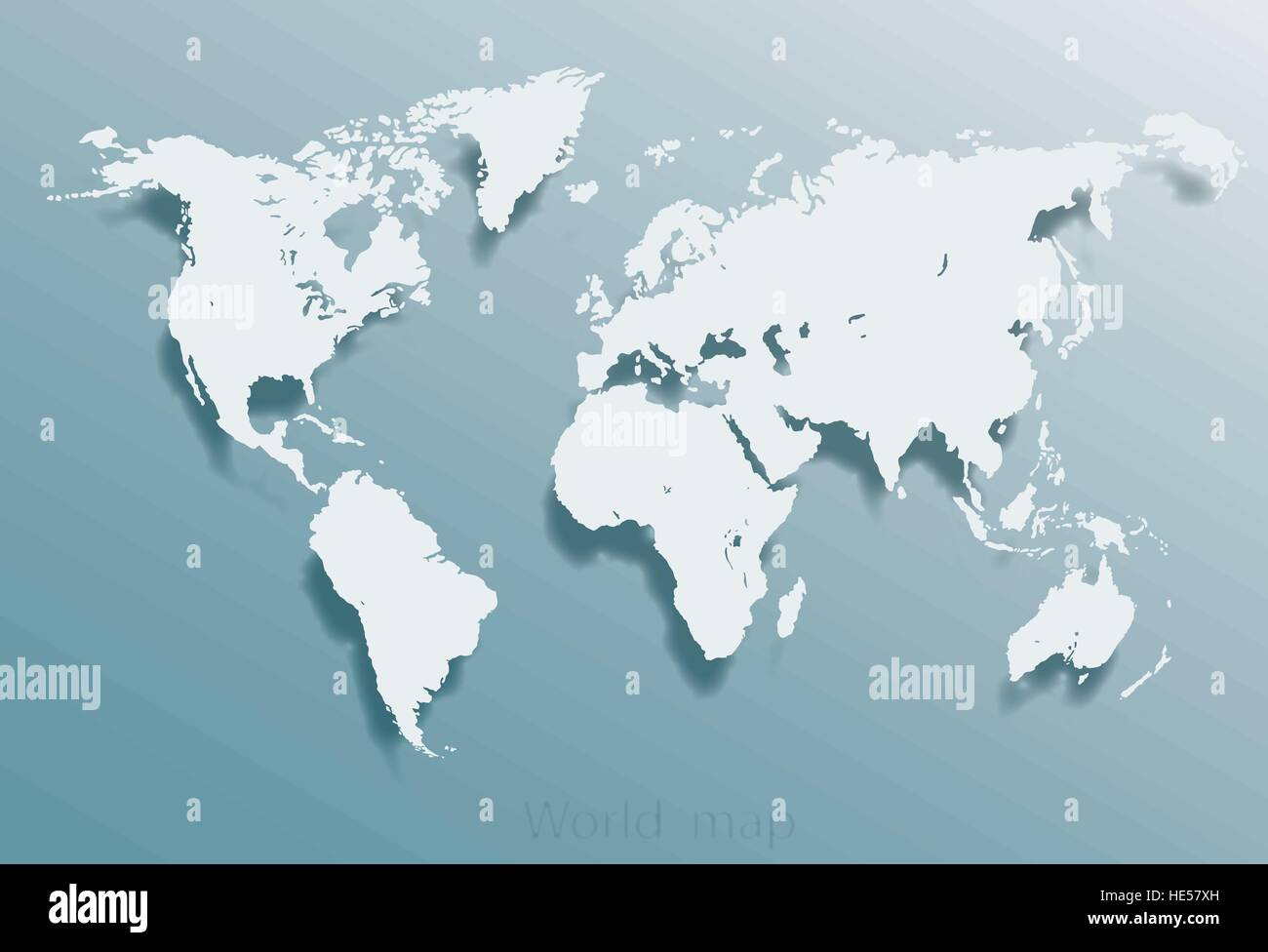 earth map template