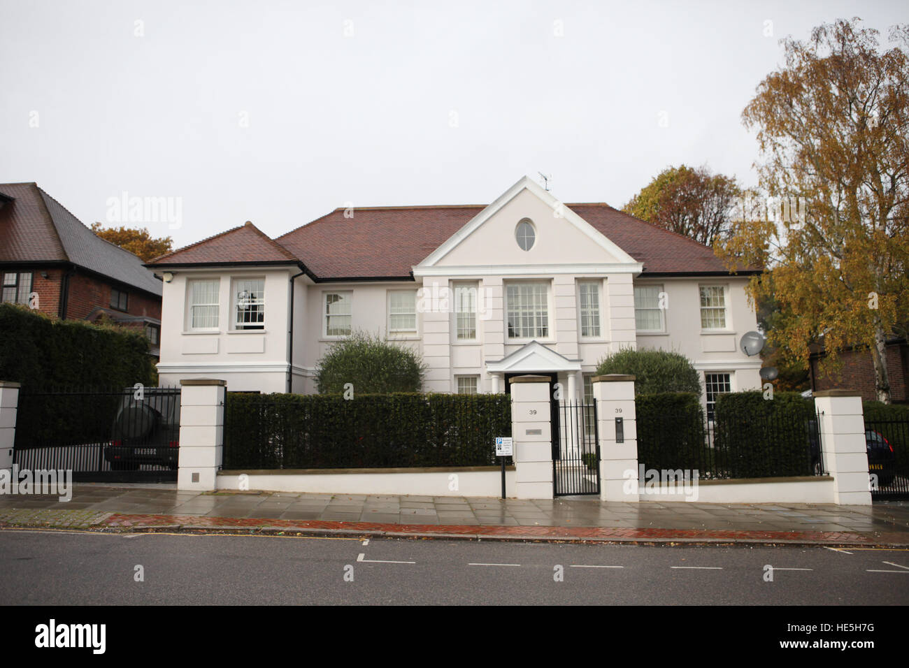 Mesut Özil Has Bought A New £10 Million House Next Door To The House He Has  Been Renting In North London. The House Has Six Bedrooms, Six Reception  Rooms, ...