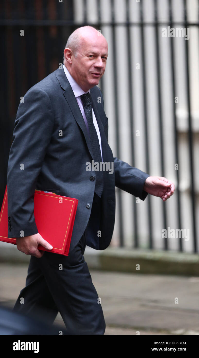 Damian Green, Secretary of State for Work and Pensions, as Ministers attend the weekly Cabinet meeting at 10 Downing - Stock Image