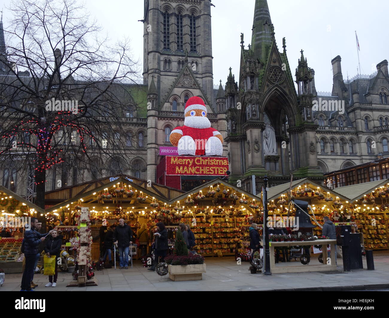 The Manchester Christmas Markets 2016 - Stock Image