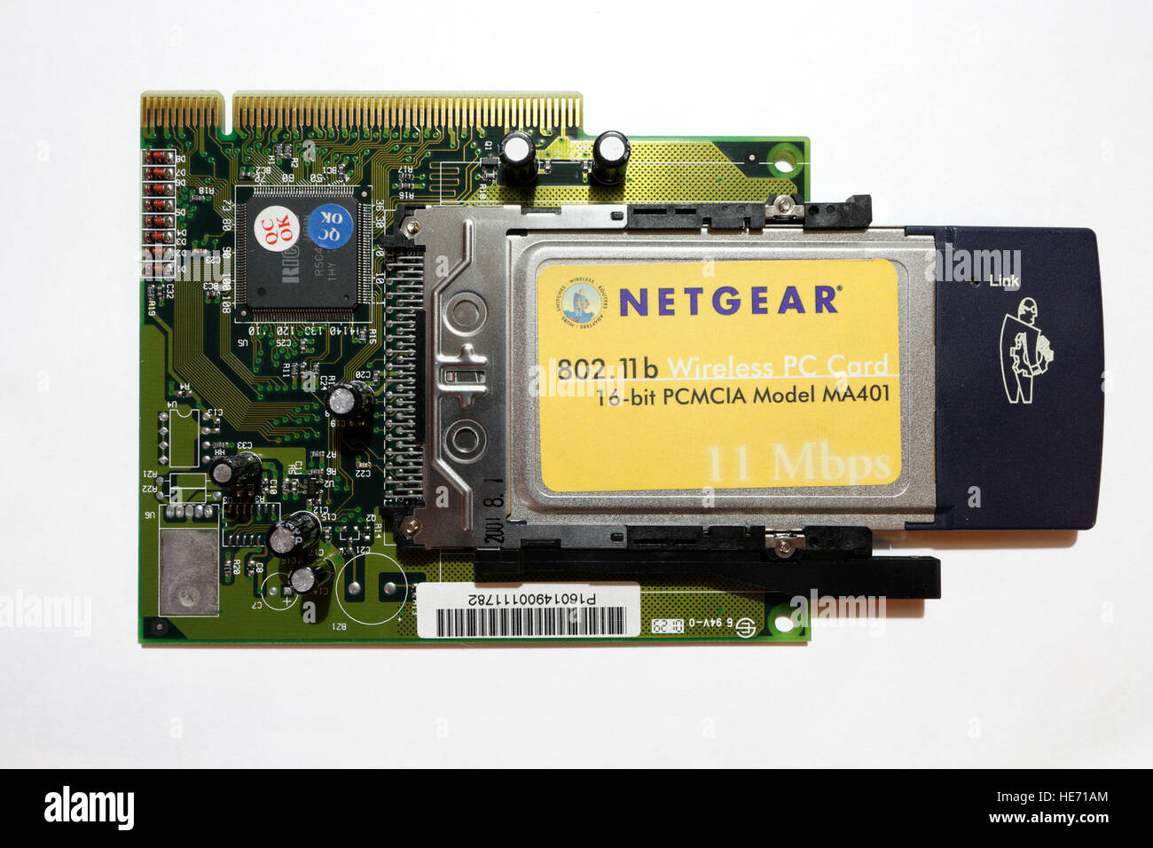 Netgear PCMCIA wifi adapter Stock Photo: 129232508 - Alamy