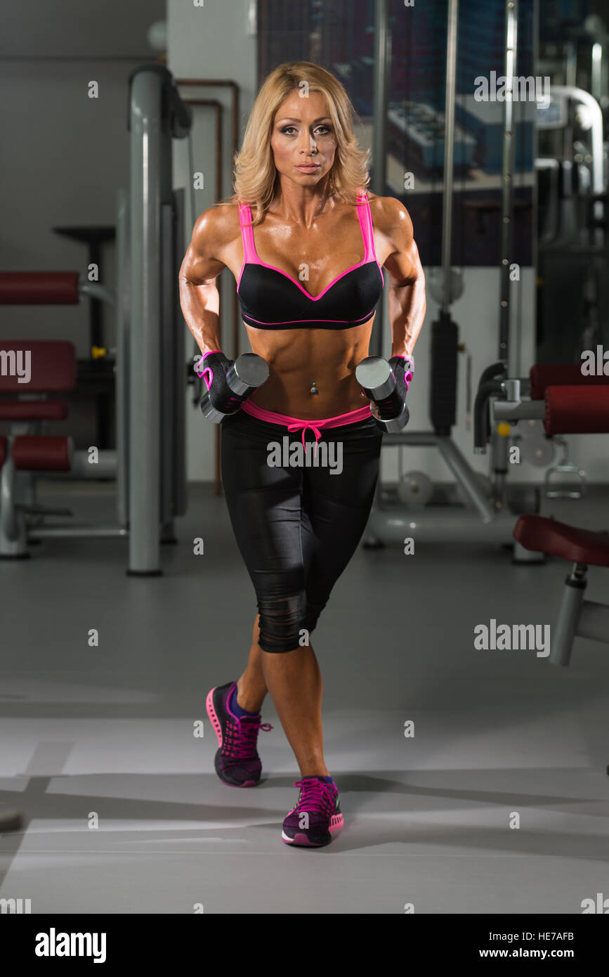 Female muscle Mature