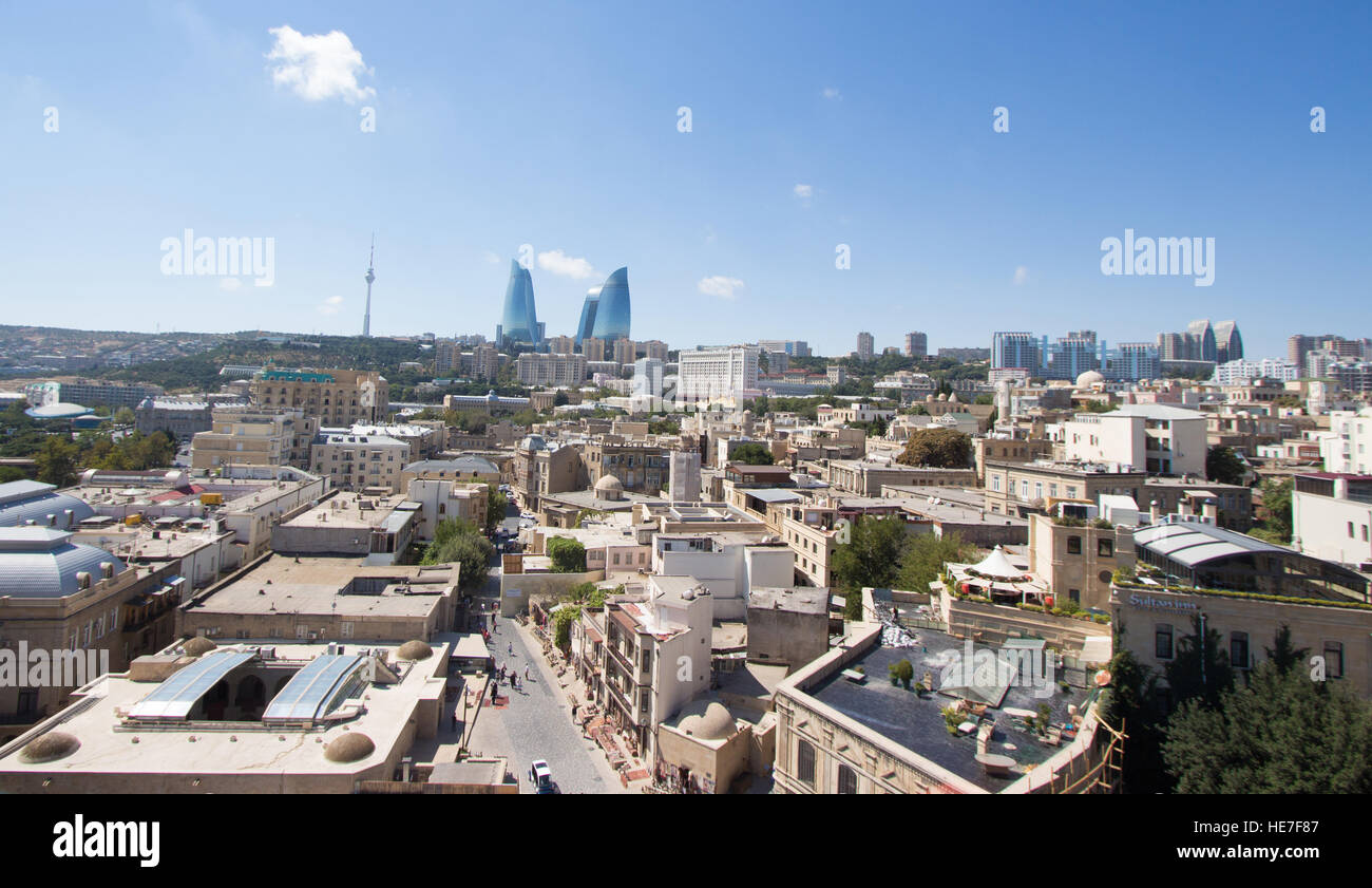 Baku city - Stock Image
