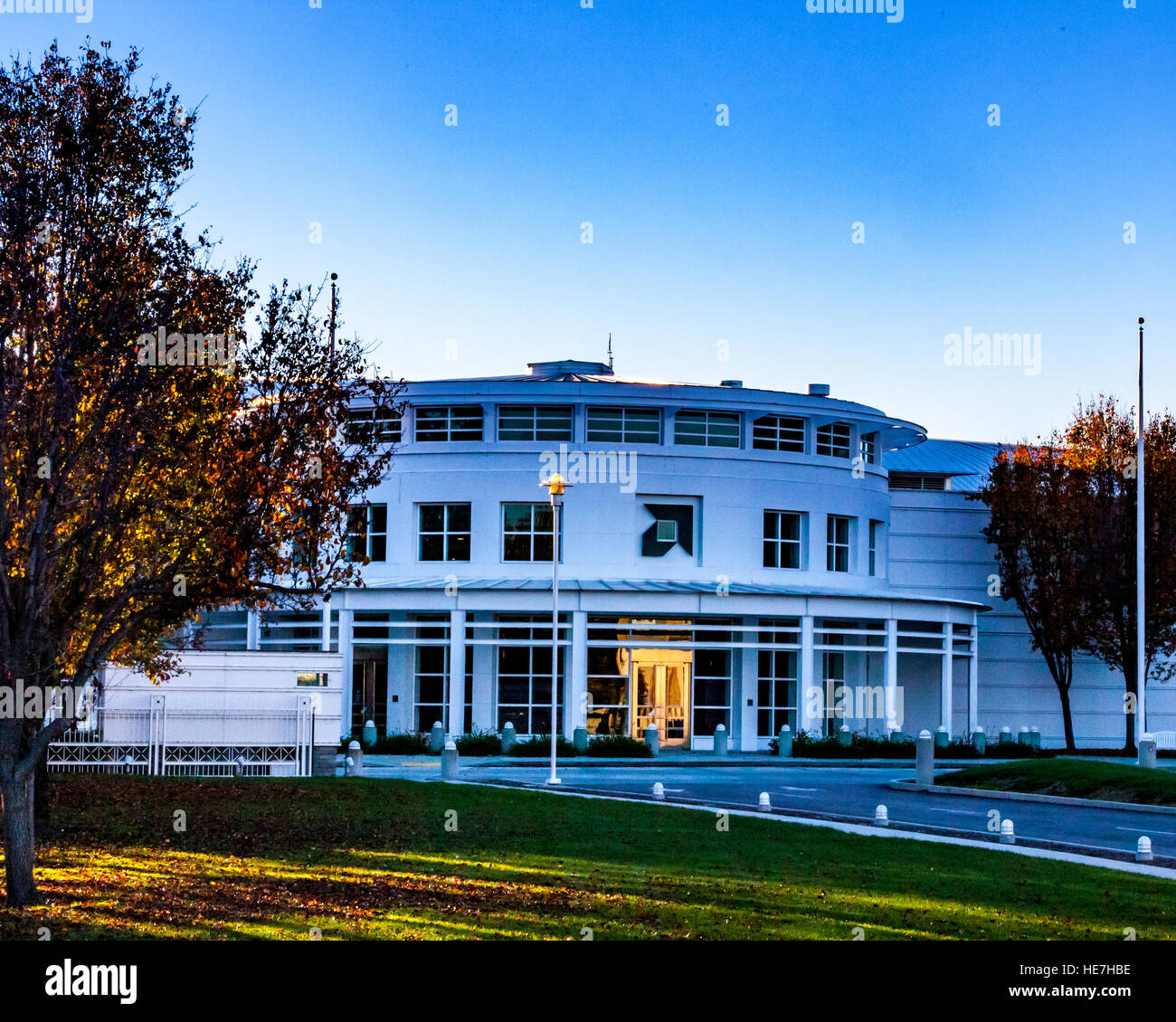 Amd Semiconductor Headquarters In Sunnyvale California Usa At Sunset Stock Photo Alamy