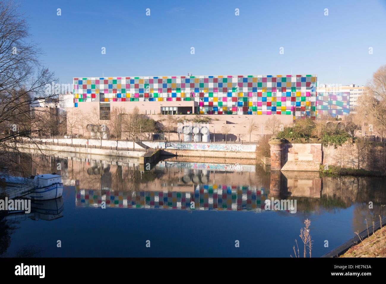 Musée d'Art Moderne et Contemporain, Strasbourg Stock Photo