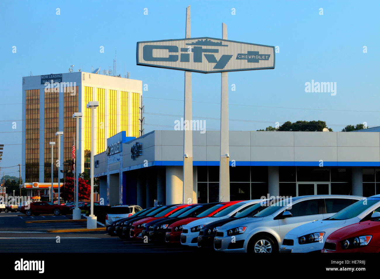City Chevrolet In Charlotte Nc Stock Photo Alamy
