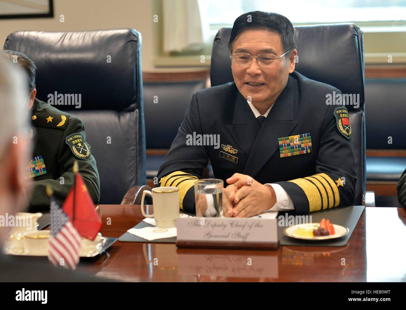 Chinese Peoples Liberation Army Deputy Chief of General ...