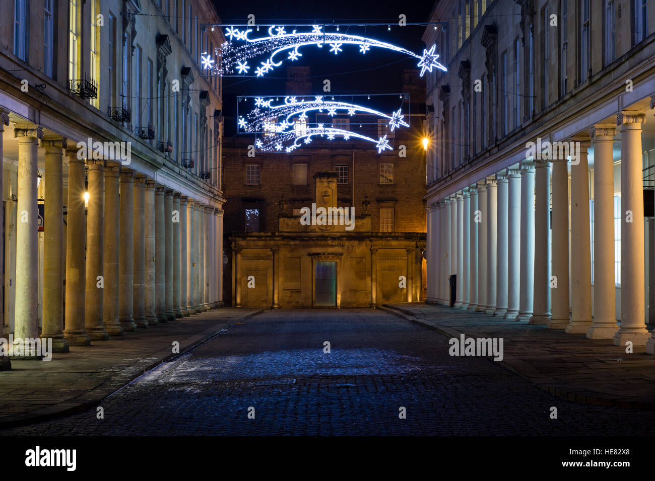 The Cross Bath Spa Building And Bath Street Spa In The