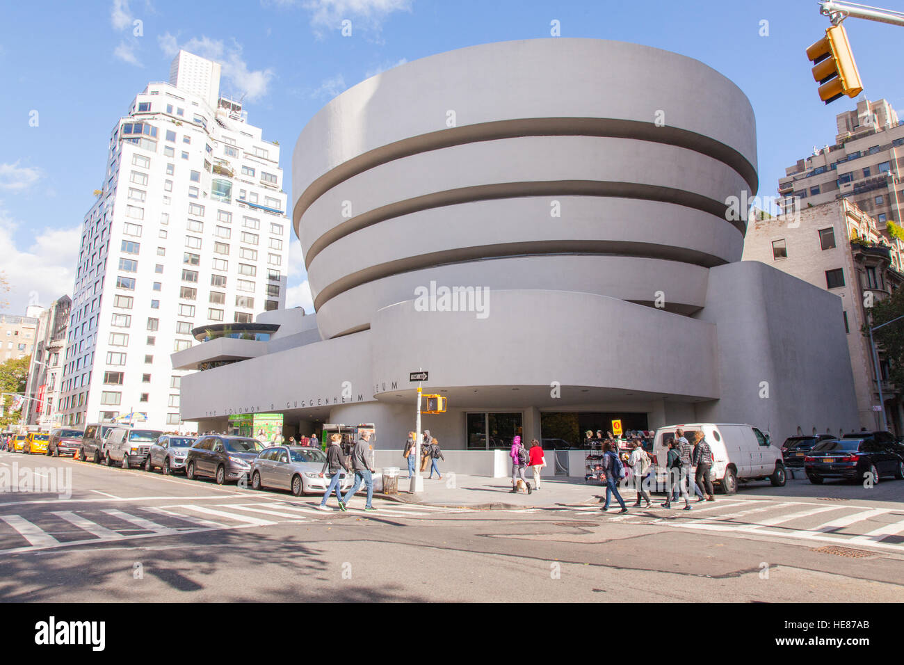 Guggenheim Museum Manhattan Stock Photos   Guggenheim Museum ... 499d86c3e4fe