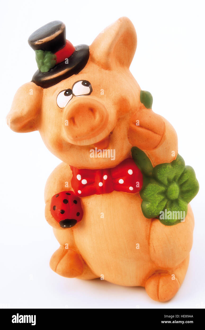Pig As A Symbol Of Good Luck Stock Photo 129260722 Alamy