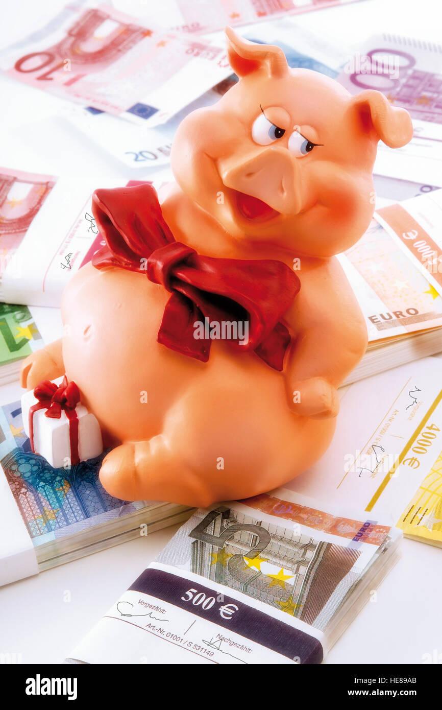 Pig As A Symbol Of Good Luck Stock Photos Pig As A Symbol Of Good