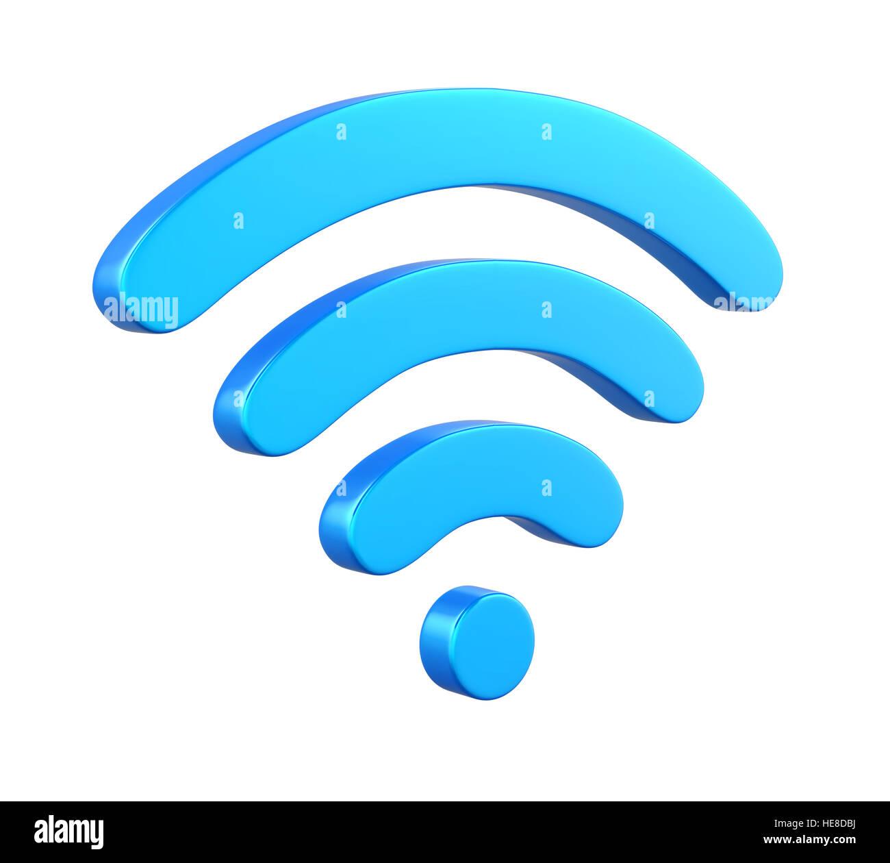 Wireless Network Symbol - Stock Image