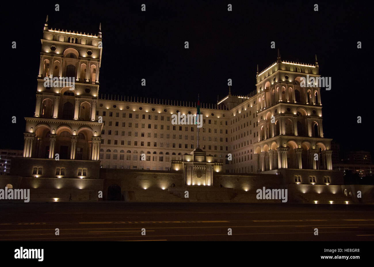 Government House in Baku - Stock Image