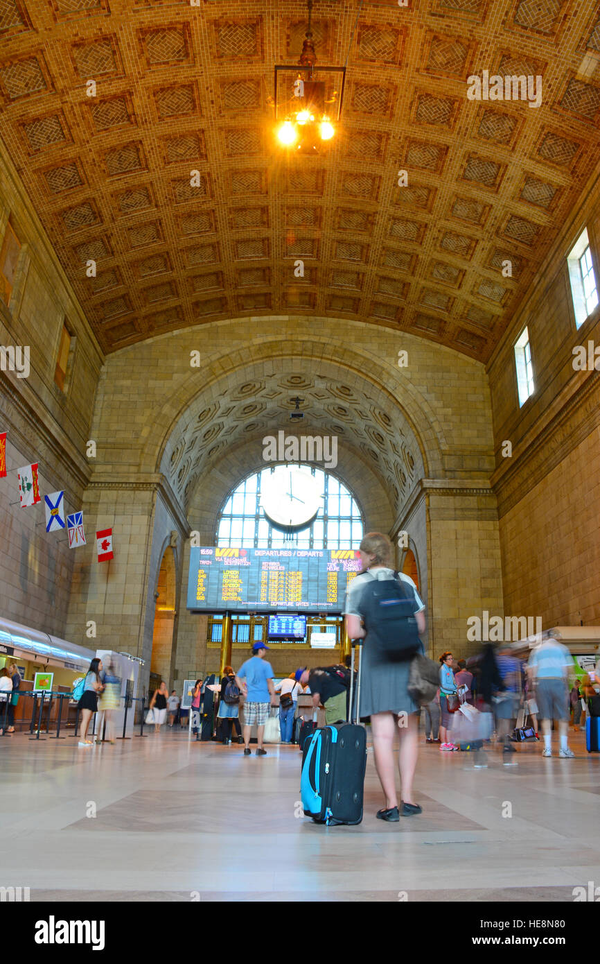 Union station, Toronto, Canada - Stock Image
