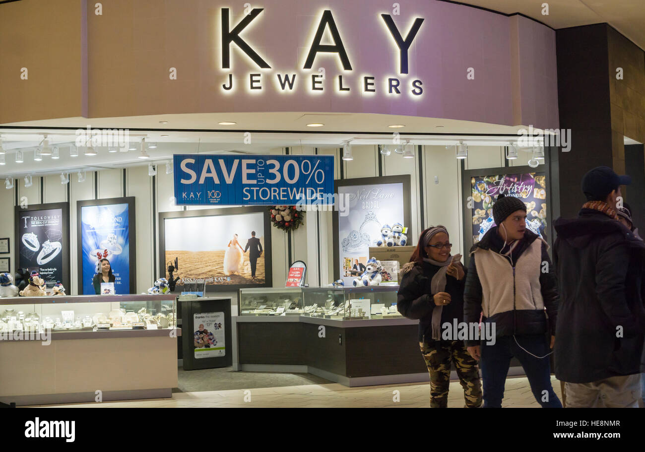7ab569f723 Kay Jewelers in the Queens Center Mall in the borough of Queens in New York  on the so-called Super Saturday