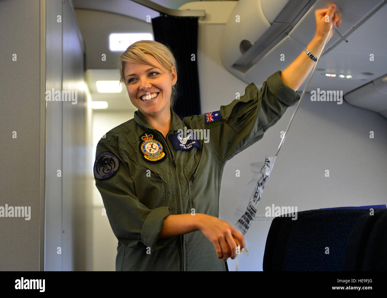 United Airlines Free Baggage Royal Australian Air Force Leading Aircraftswoman Adele