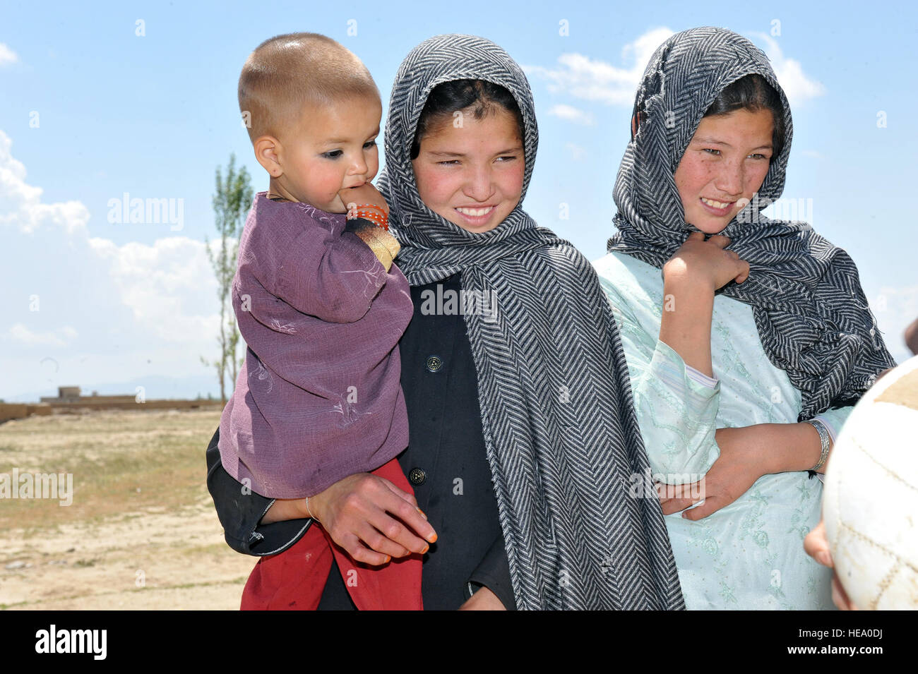 Teen girls in Ghazni