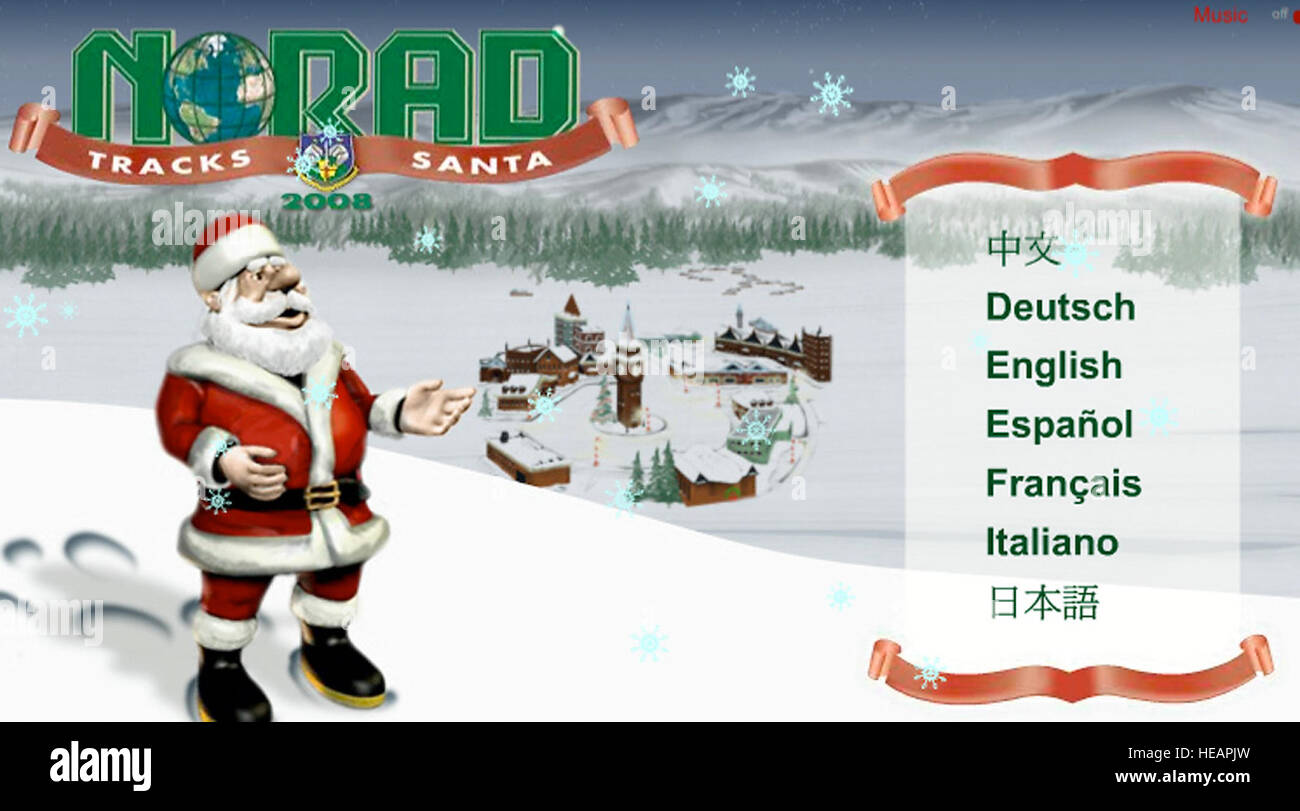 Santa\'s fans can track his journey around the world on Dec. 24 at ...