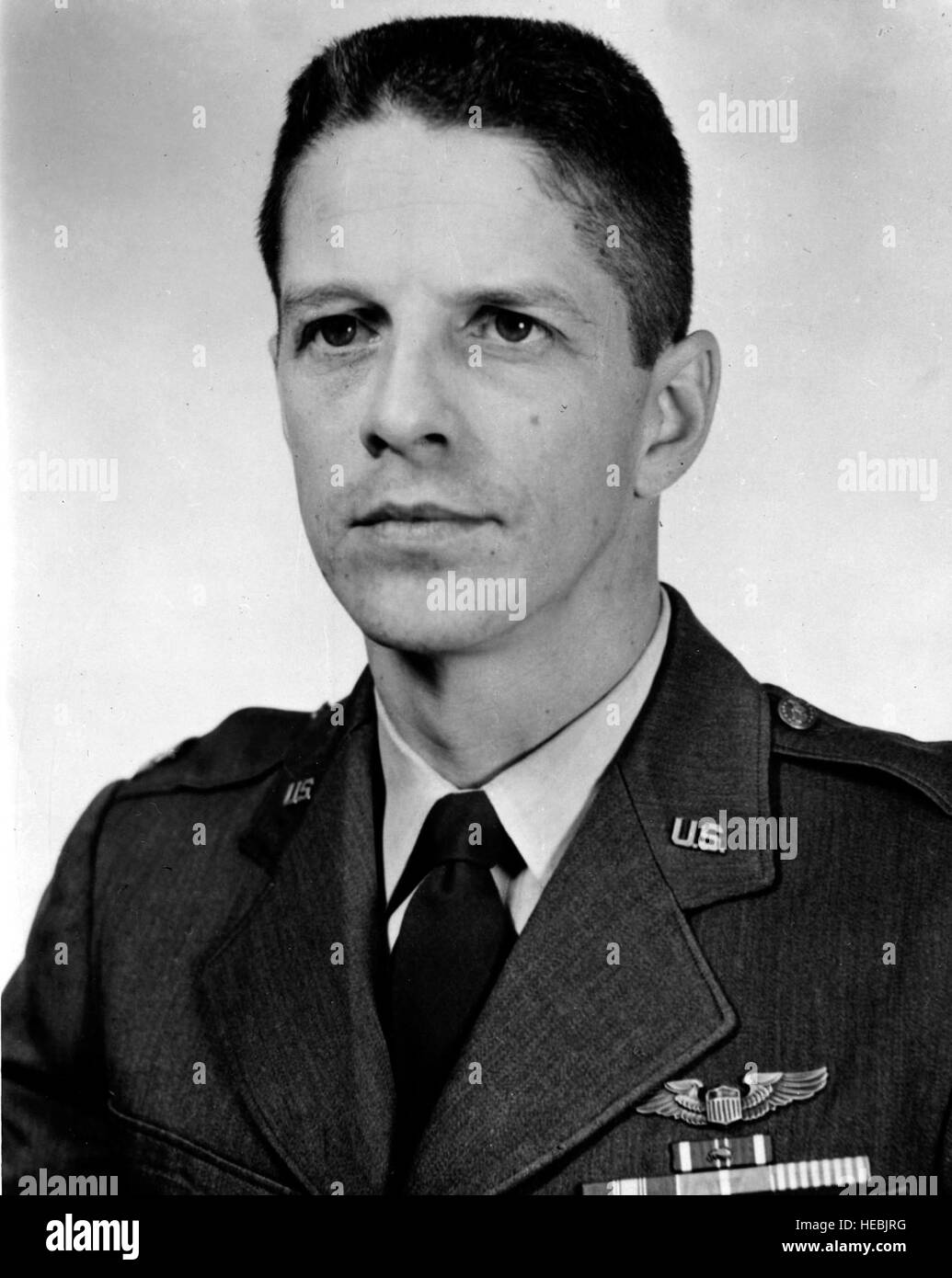 Major Rudolph Anderson, Jr. was shot down and killed over Cuba during the October 1962 crisis. He was flying a U - Stock Image