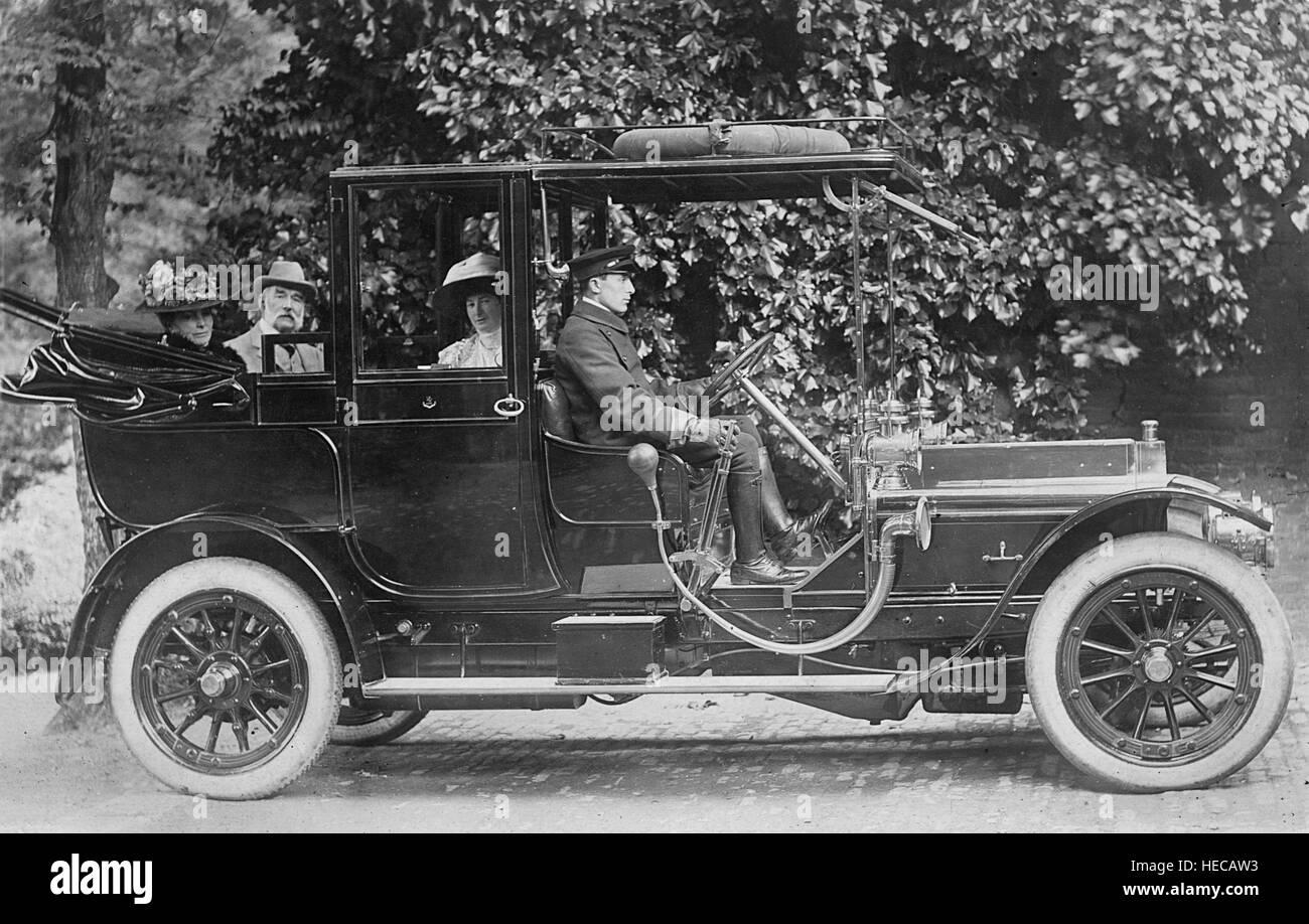 1909 Wolseley Siddeley Laundaulette - Stock Image