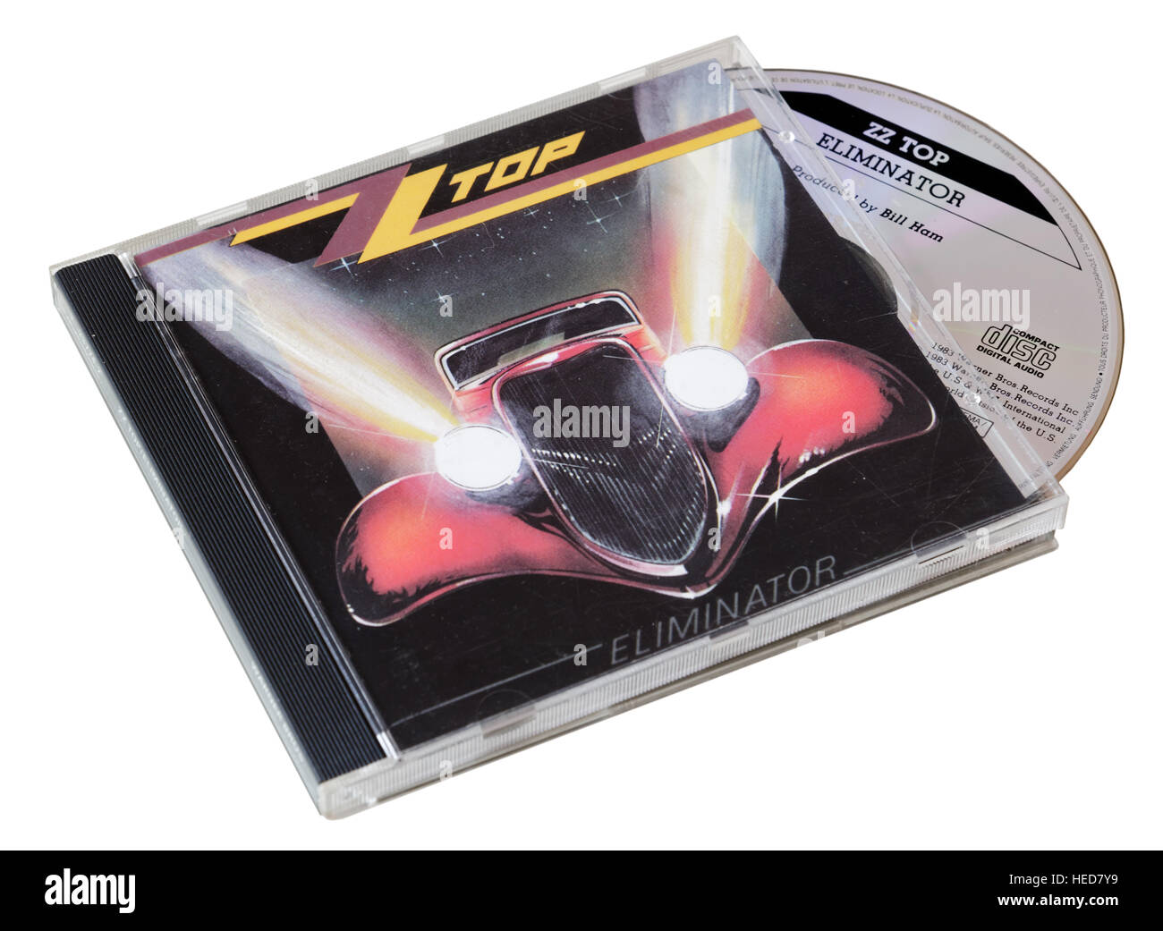ZZ Top Eliminator CD - Stock Image