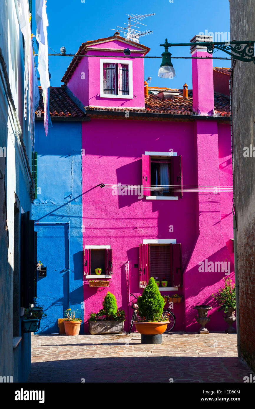burano,italy,veneto,gospodarek Stock Photo: 129369428 - Alamy