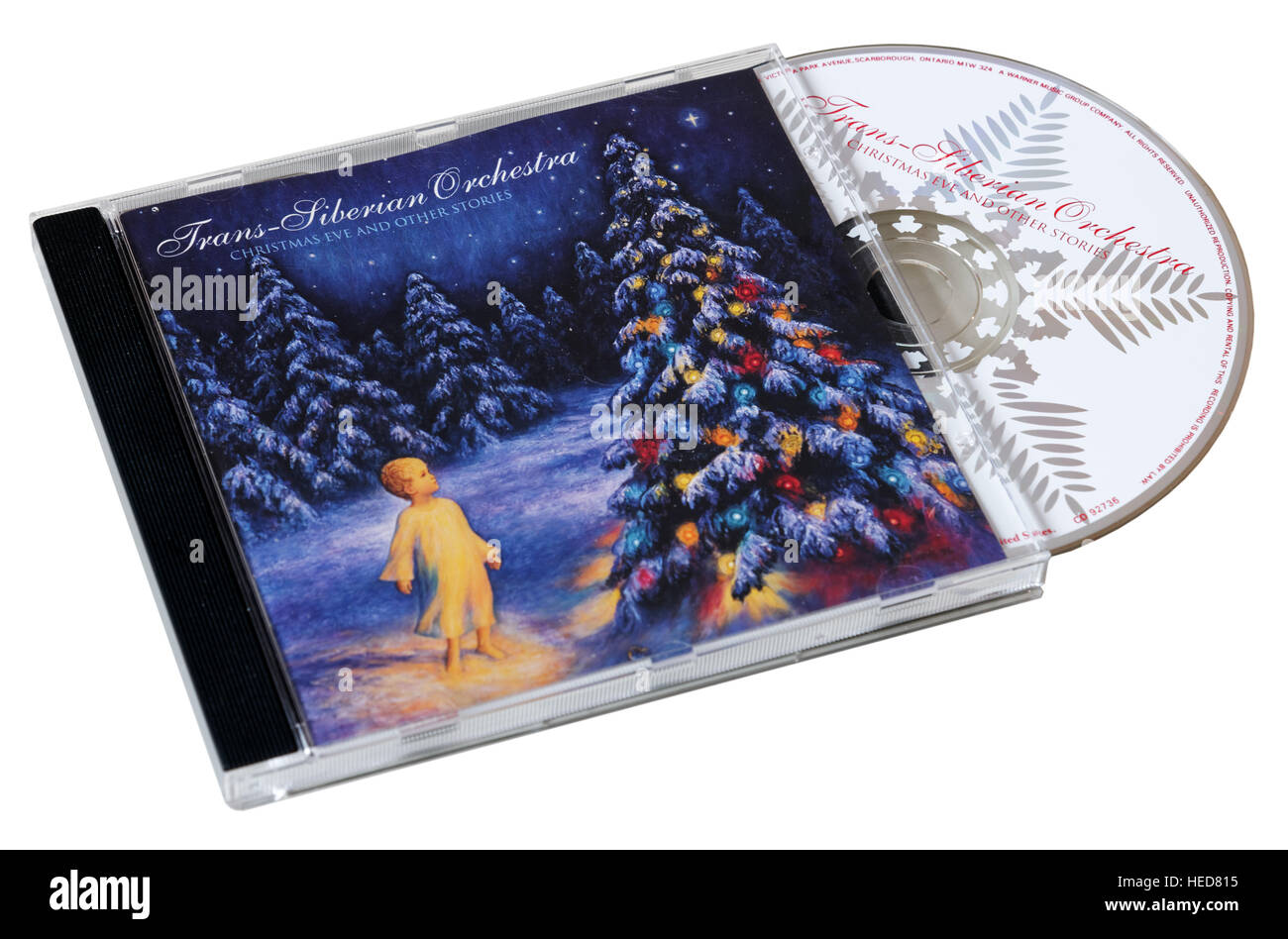 Trans Siberian Orchestra Christmas Eve and Other Stories CD - Stock Image