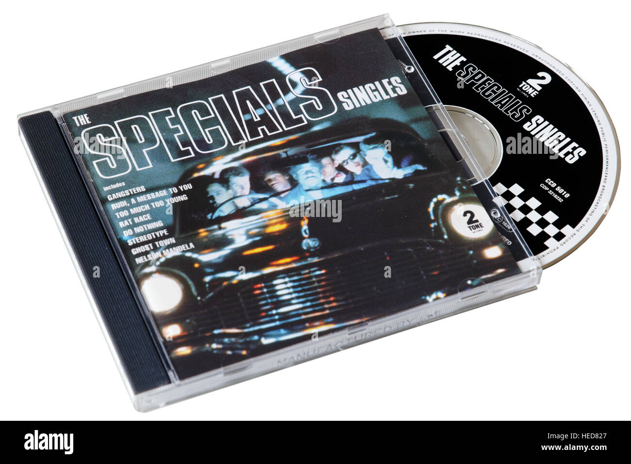 The Specials Singles CD - Stock Image