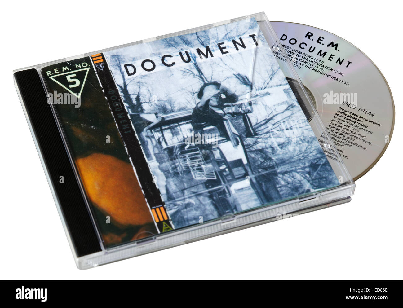 REM Document CD - Stock Image