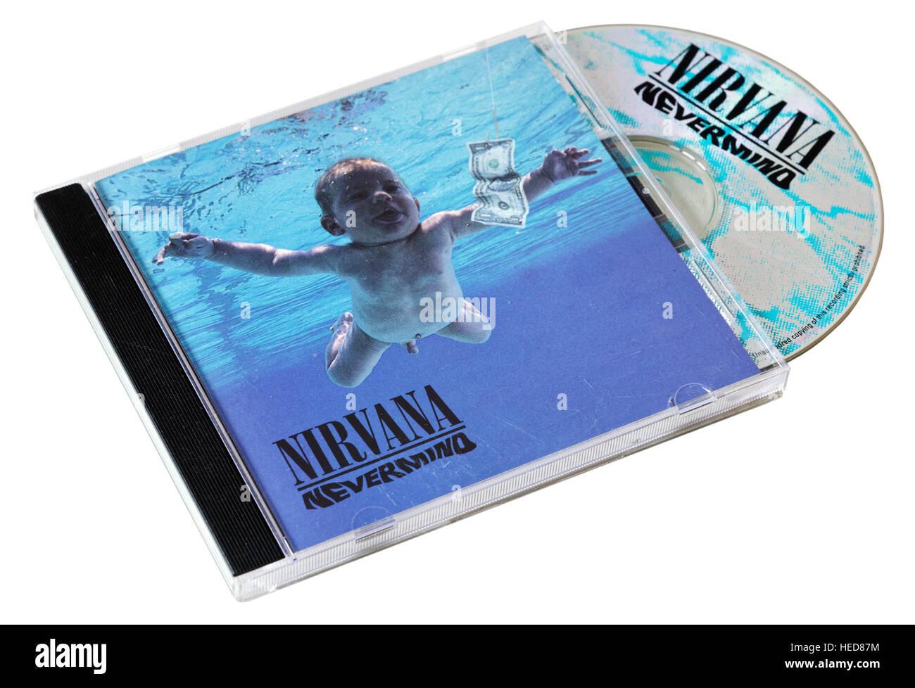 Nirvana Nevermind CD Stock Photo 129369624