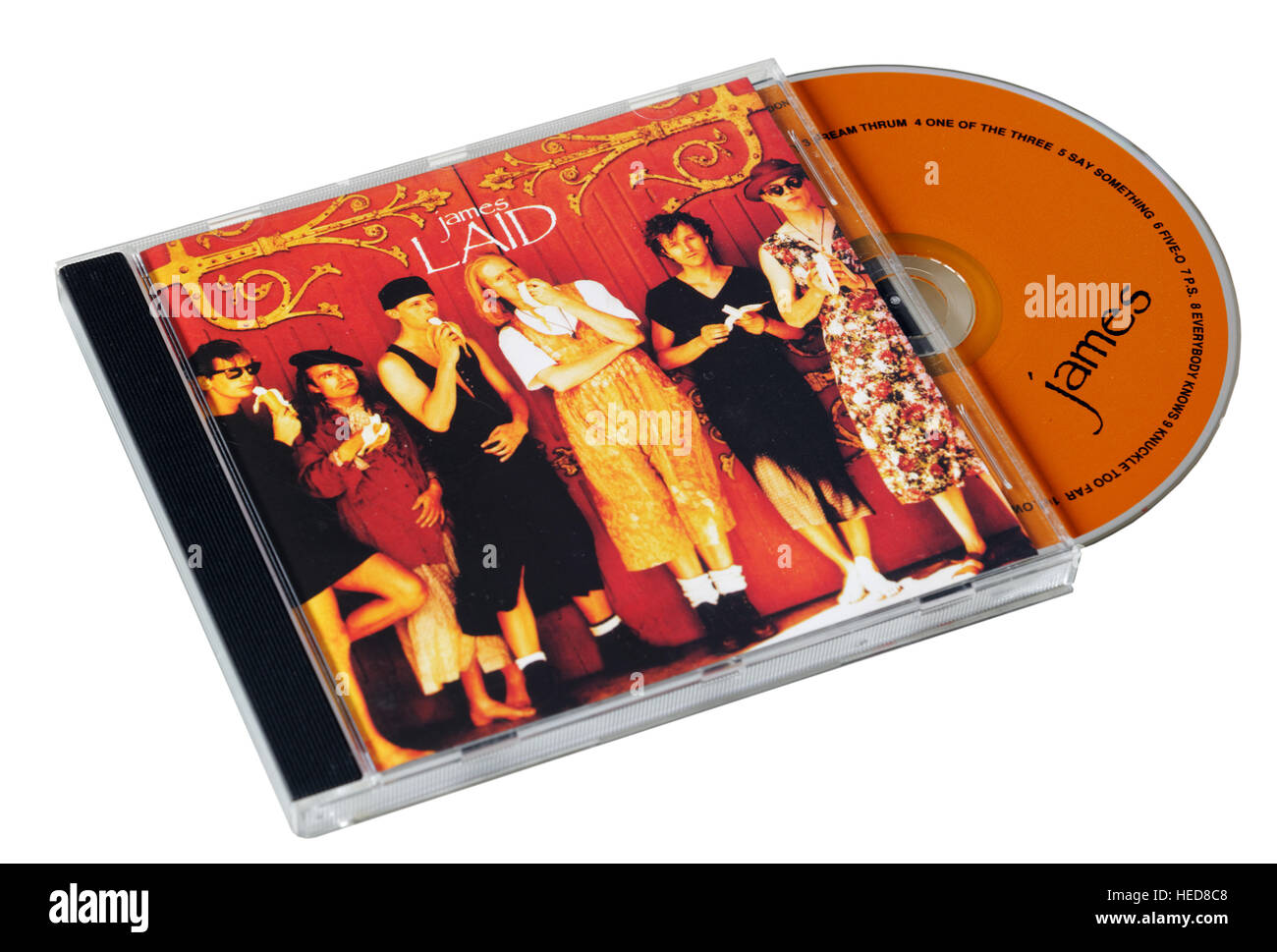 james Laid CD - Stock Image