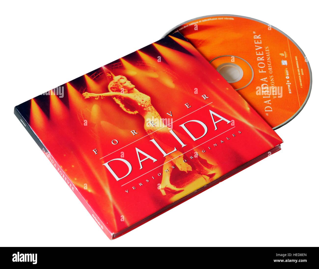 Forever Dalida CD - Stock Image
