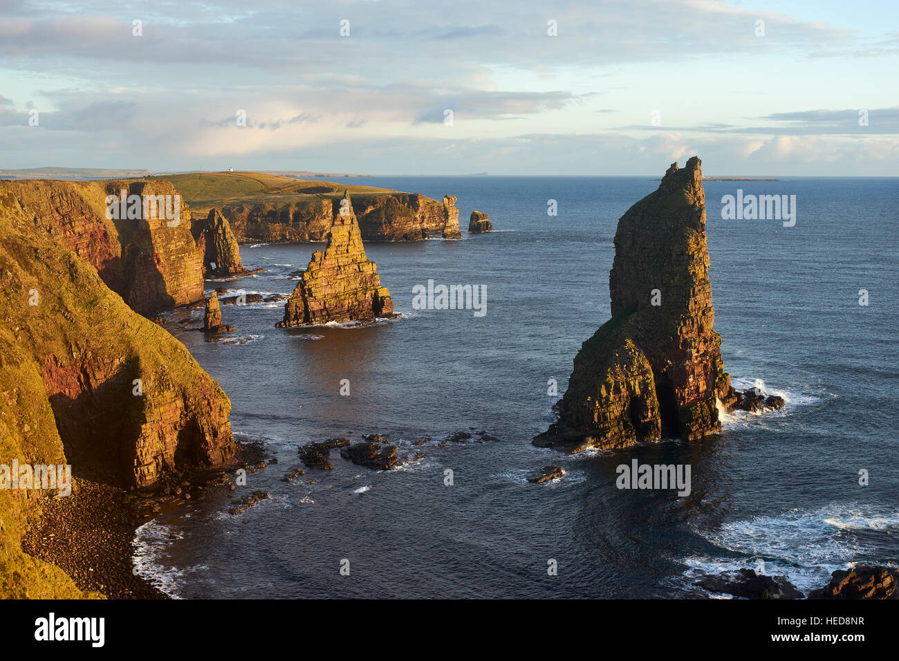 Stacks of Duncansby, Caithness, Scotland Stock Photo