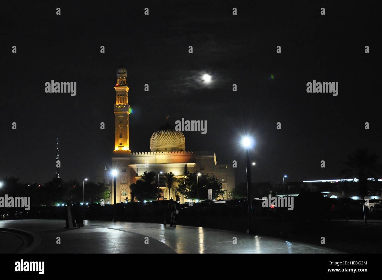 Jumeirah Beach Mosque Stock Photo