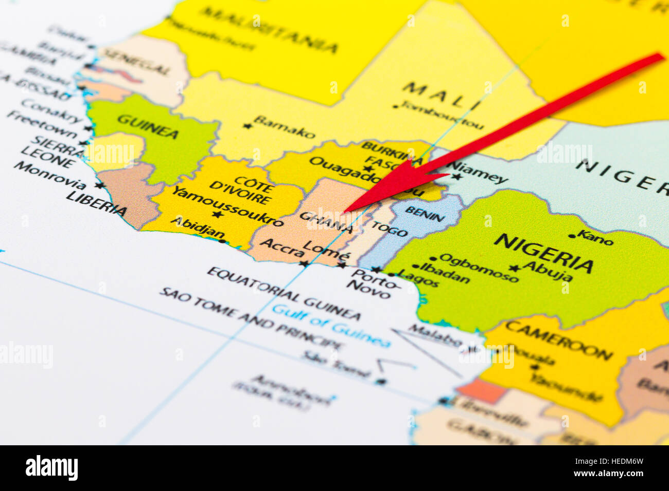 Red arrow pointing Ghana on the map of Africa continent ... on mauritania on map, nepal on map, guatemala on map, west africa map, borneo on map, egypt on map, belize on map, mali on map, madagascar on map, liberia on map, hungary on map, brazil on map, cuba on map, benin on map, zimbabwe on map, italy on map, indonesia on map, the gambia on map, nigeria on map, thailand on map,