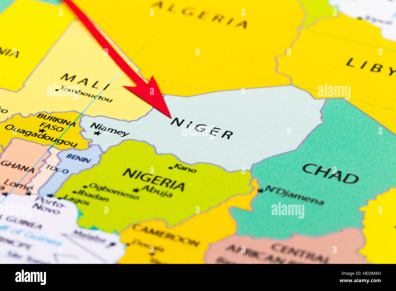 Red arrow pointing Niger on the map of Africa continent ... on map of sz, map of sh, map of ei, map of mh, map of gh, map of ke, map of re, map of air force bases overseas, map of asia, map of gl, map of afganis, map of cl, map of africa, map of ci, map of ggc, map of ic, map of sn, map of spangdahlem air force base, map of afr, map of ta,