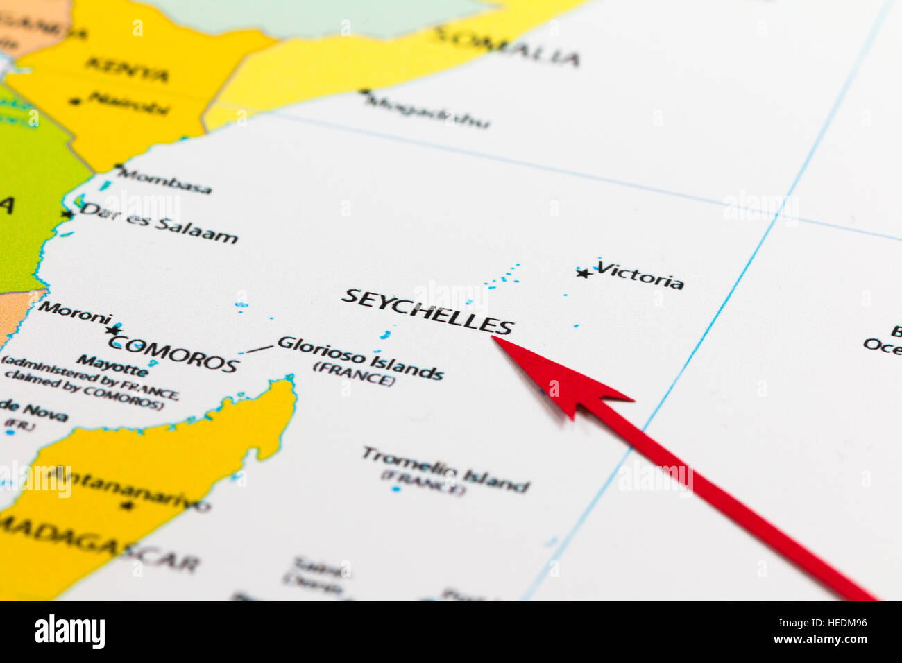 Red arrow pointing seychelles islands on the map of africa continent red arrow pointing seychelles islands on the map of africa continent gumiabroncs Image collections