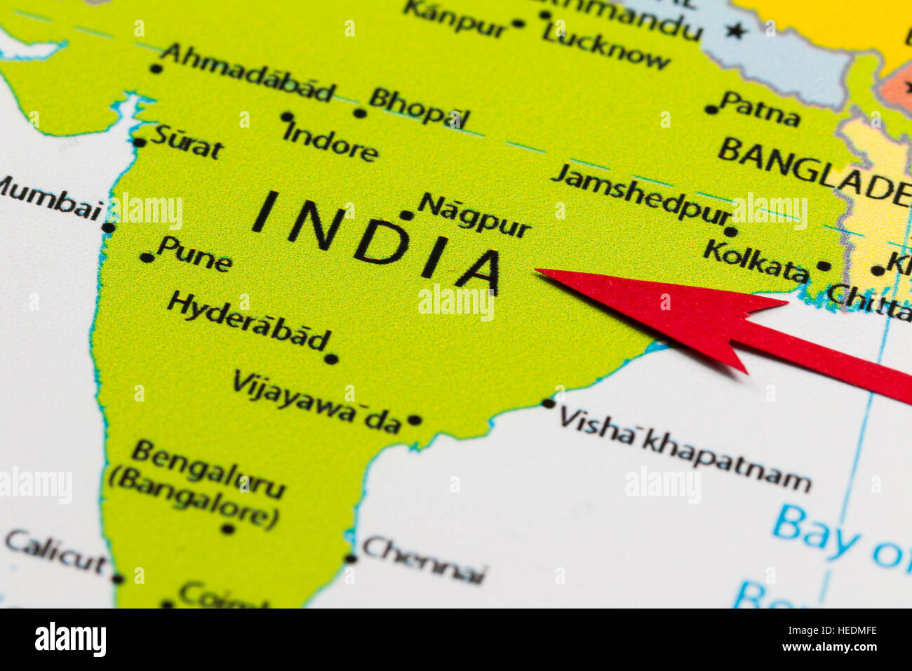 Map Of India Political.India Political Map Stock Photos India Political Map Stock Images