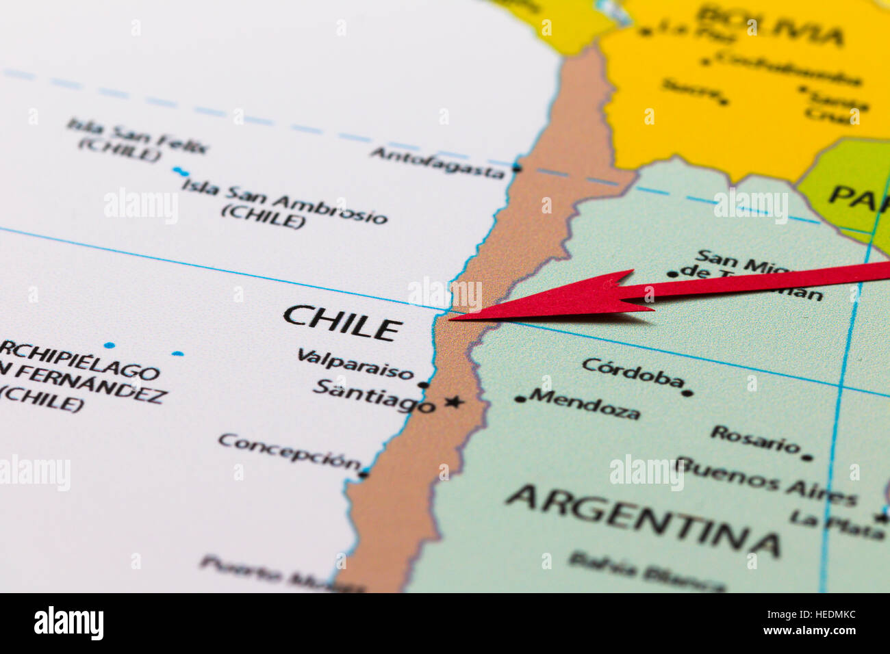 Chile Map Stock Photos & Chile Map Stock Images - Alamy on