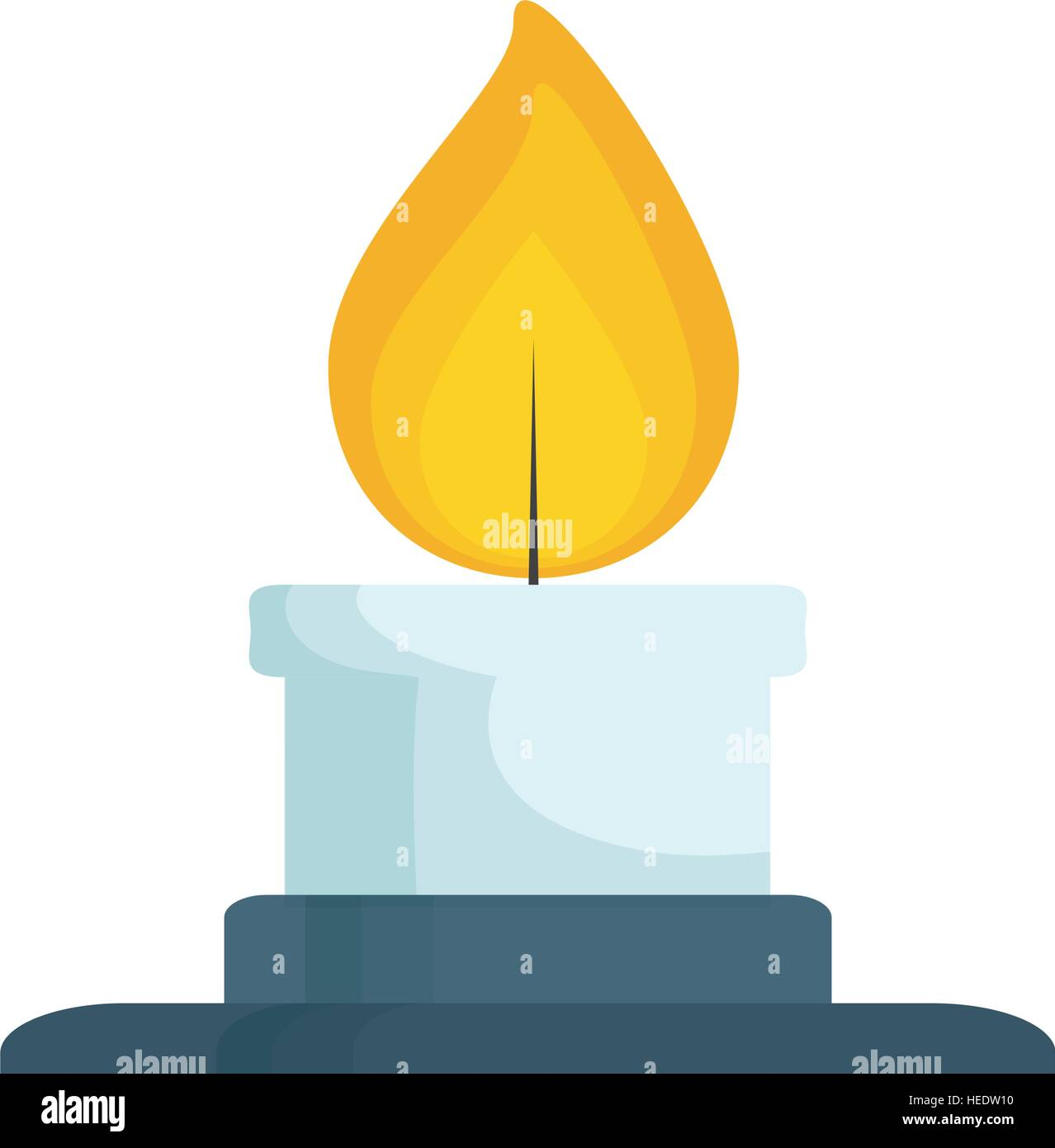 how to get a blue flame on a bunsen burner